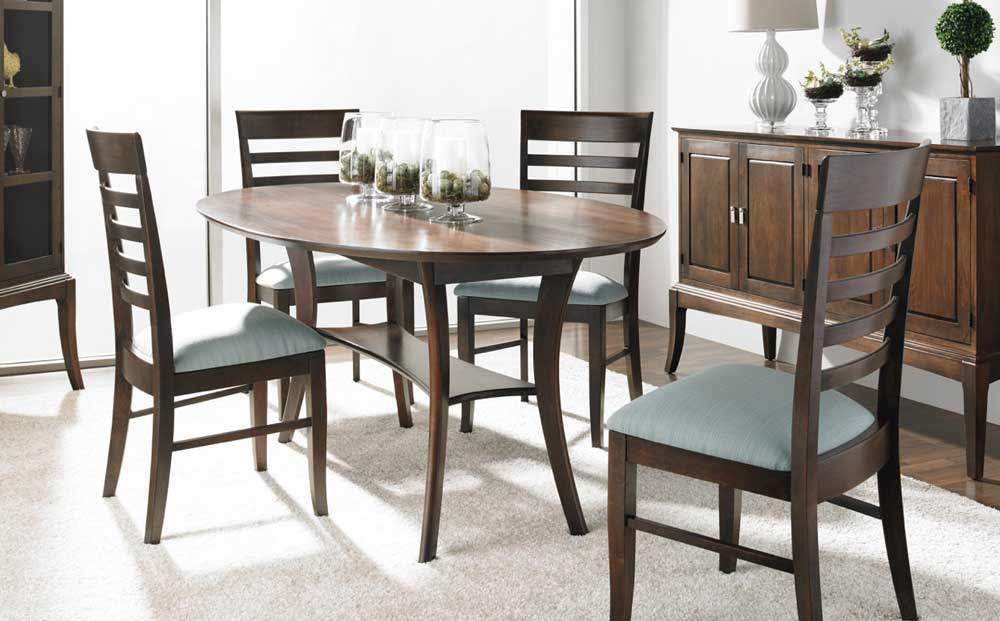 Barbara Oval Dining Room Table from Gat Creek - Dining Room Furniture Creative Classics