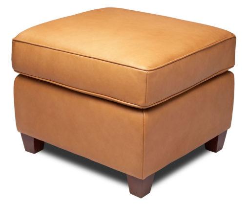 Bella Swivel Chair Matching Ottoman by American Leather at Creative Classics Furniture in Alexandria VA near Washington DC and Arlington VA