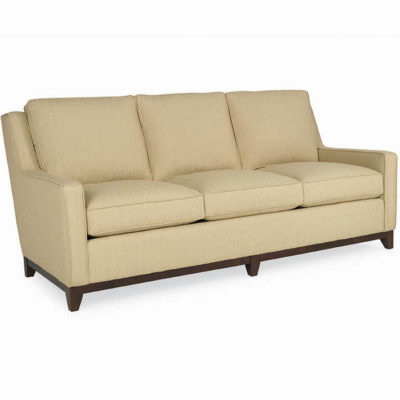 Carter 70.5 inch Sofa in light yellow fabric by CR Laine Furniture at Creative Classics Furniture in Alexandria VA near Washington DC and Arlington VA