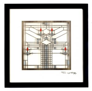 Frank Lloyd Wright Licensed Shadow Boxes