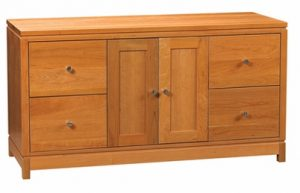 Franklin Large Credenza with File Storage