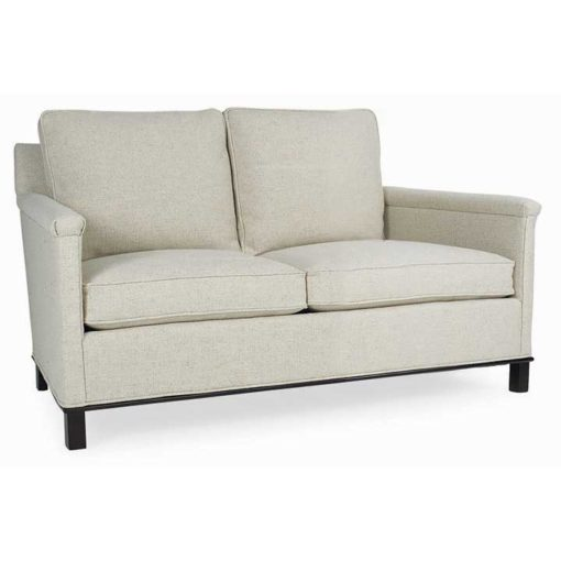 Gotham Loveseat in cream fabric by CR Laine Furniture at Creative Classics Furniture in Alexandria VA near Arlington VA and Washington DC