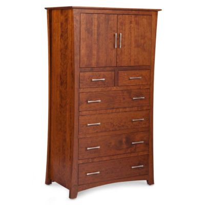 Loft Solid Wood Chest Armoire by Simply Amish at Creative Classics in Alexandria VA near Washington DC and Arlington VA