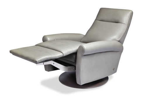 Ada Swivel Comfort Recliner Open