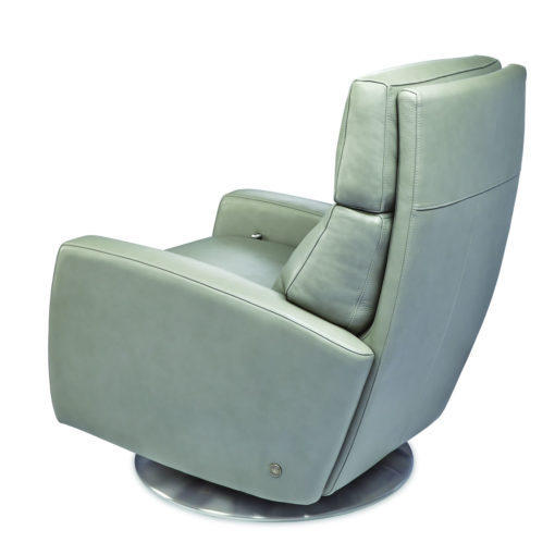 Back view of Elliot Swivel Comfort Recliner by American Leather at Creative Classics Furniture in Alexandria VA near Arlington VA and Washington DC