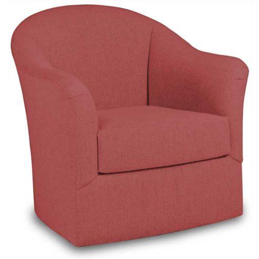 Riley 9306 Swivel Glider Chair in red fabric by Precedent Furniture at Creative Classics Furniture in Alexandria VA near Arlington VA and Washington DC