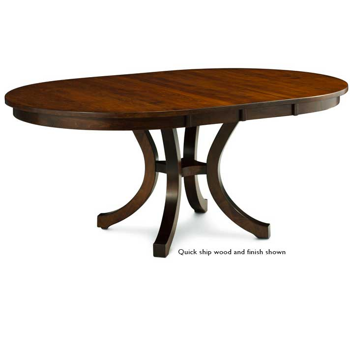 Stupendous Loft Ii Round Dining Table Beutiful Home Inspiration Xortanetmahrainfo