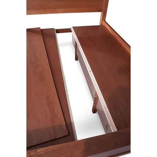 Slat detail of Simply Amish Storage Beds at Creative Classics Furniture in Alexandria VA