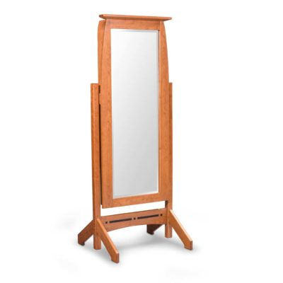 Aspen Cheval Mirror with Jewelry Storage