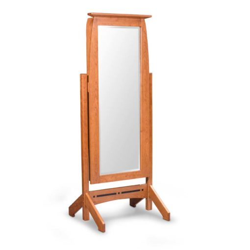 Aspen Cheval Mirror with Jewelry Storage by Simply Amish Furniture at Creative Classics Furniture in Alexandria VA near Washington DC and Arlington VA