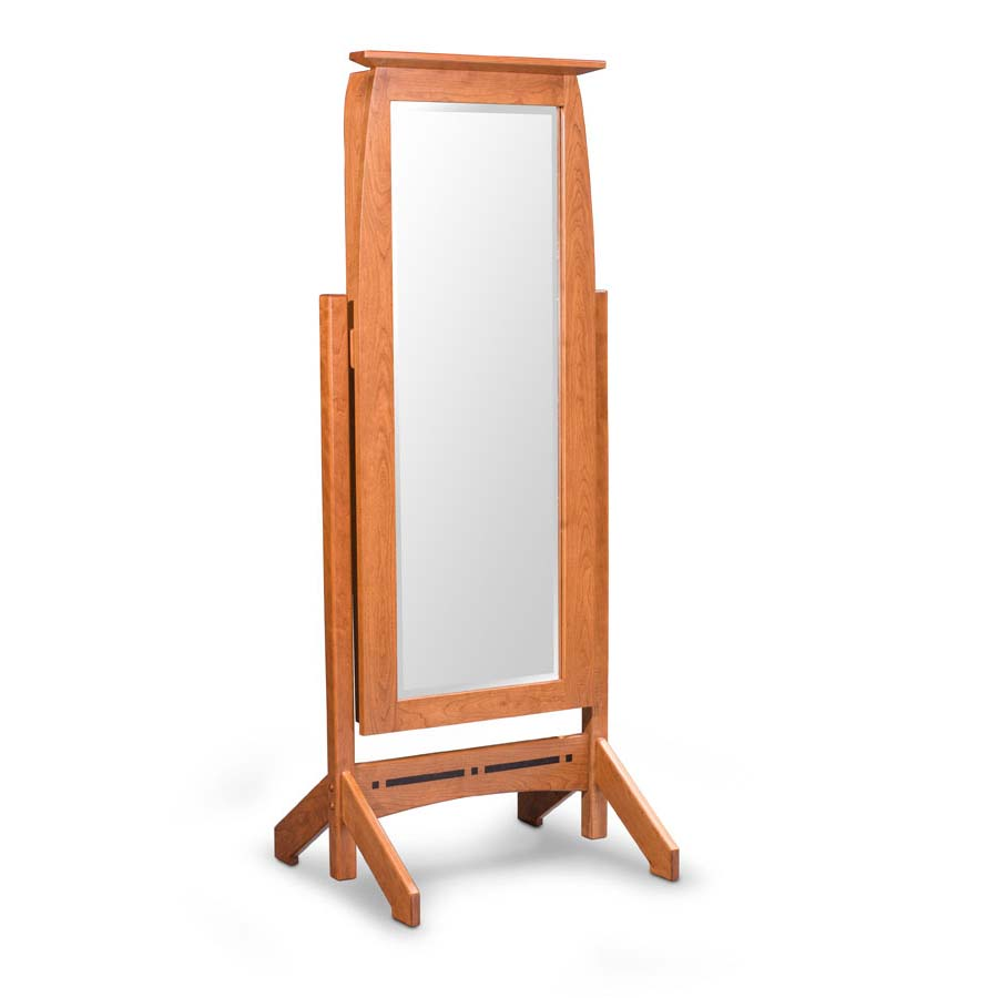 Aspen cheval mirror with jewelry storage creative classics for Cheval mirror