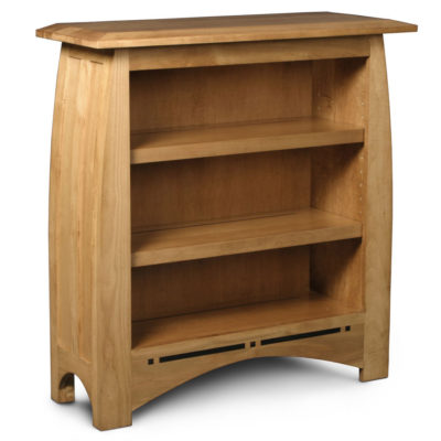 Solid Wood Aspen short open bookcase by Simply Amish at Creative Classics Furniture in Alexandria VA near Washington DC and Arlington VA