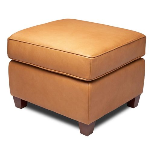 Bella Chair Matching Ottoman by American Leather at Creative Classics Furniture in Alexandria VA