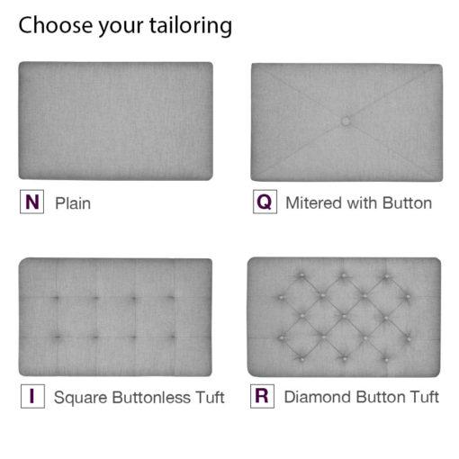 Build Your Own Ottoman Tailoring Styles at Creative Classics Furniture in Alexandria VA near Arlington VA and Washington DC