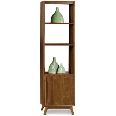 Solid wood Catalina bookcase in American black walnut by Copeland Furniture at Creative Classics Furniture in Alexandria VA near Northern VA and Washington DC