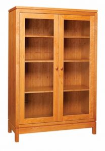 Franklin Glass Door Bookcase