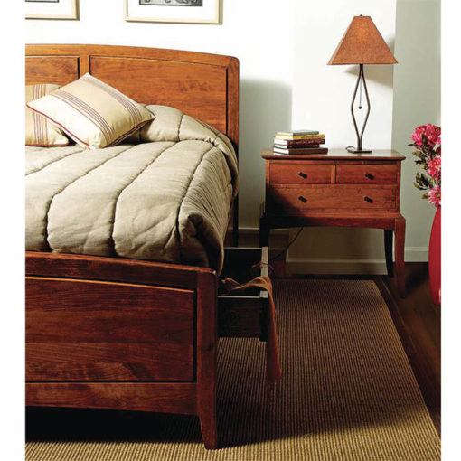 Bedroom Scene of solid wood Chelsea Storage Bed by Gat Creek Furniture at Creative Classics Furniture in Alexandria VA near Washington DC and Arlington VA