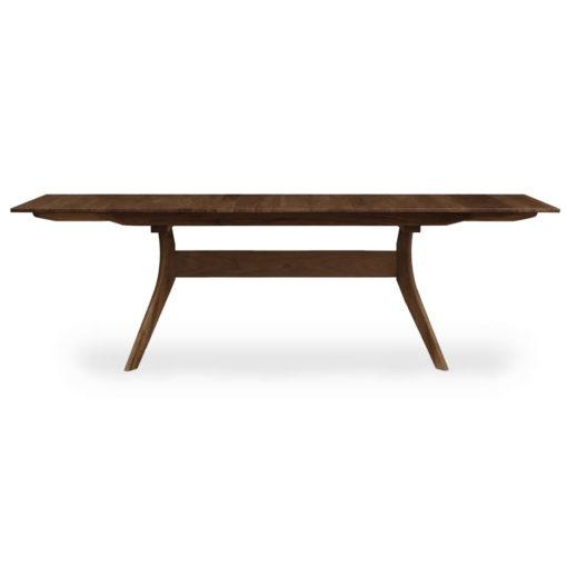 Audrey Solid Wood Trestle Dining Table in natural walnut by Copeland Furniture at Creative Classics Furniture in Alexandria VA near Washington DC and Arlington VA