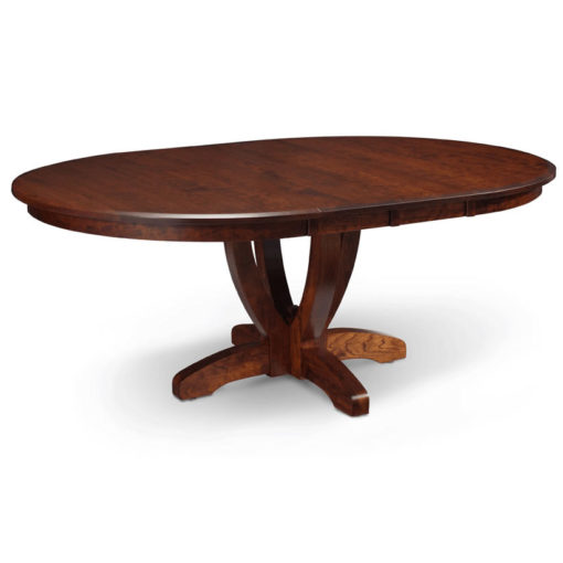 Brookfield Oval Solid Wood Dining Room Table with Leaf by Simply Amish at Creative Classics Furniture in Alexandria VA