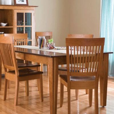 Build Your Own Leg Dining Room Table by Simply Amish Main Scene View at Creative Classics Furniture in Alexandria VA near Arlington VA and Washington DC