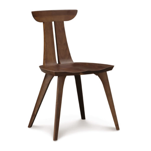 Solid Wood Estelle Dining chair in walnut by Copeland Furniture at Creative Classics Furniture in Alexandria VA near Washington DC and Arlington VA