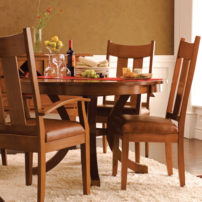 Loft II Round Dining Table
