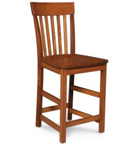 Venice Bar Stool Wood Seat