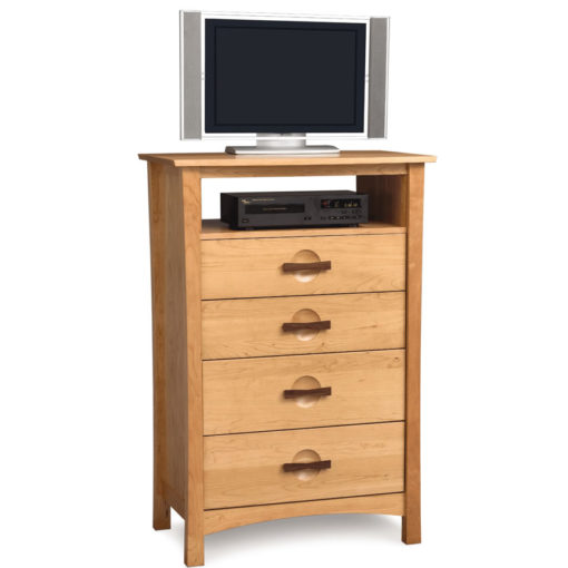 Solid Cherry Wood Berkeley Five Drawer Dresser with TV Stand option by Copeland Furniture at Creative Classics Furniture in Alexandria VA near Washington DC and Arlington VA