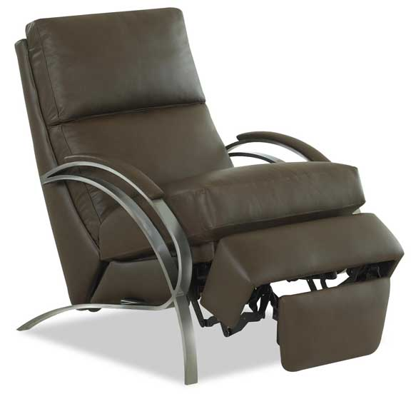 Spiral Small Scale Recliner by Comfort Design Open at Creative Classics Furniture in Alexandria VA