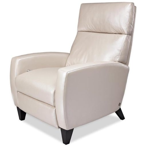 Elliot Comfort Recliner in cream leather by American Leather at Creative Classics Furniture in Alexandria VA near Arlington VA and Washington DC