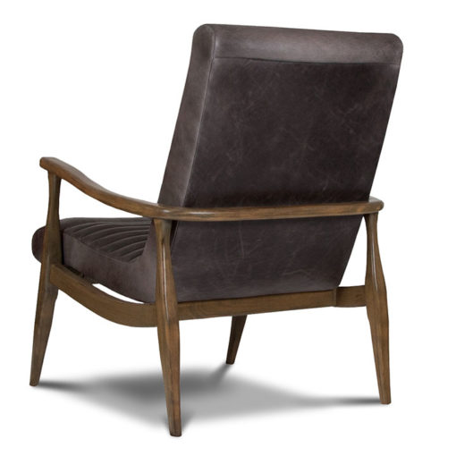 back view of Erik Chair in Leather by Precedent Furniture at Creative Classics Furniture in Alexandria VA