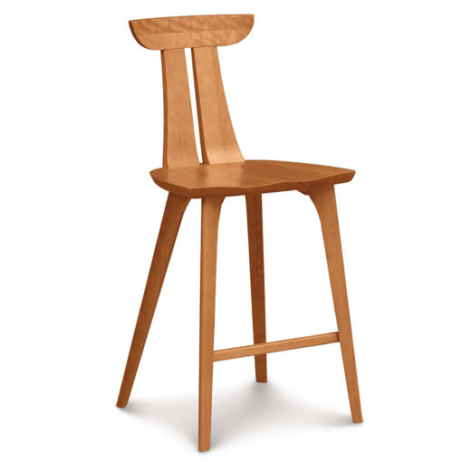 Estelle Solid Wood Bar and Counter Stool by Copeland Furniture - Bar Stools Counter Stools Creative Classics
