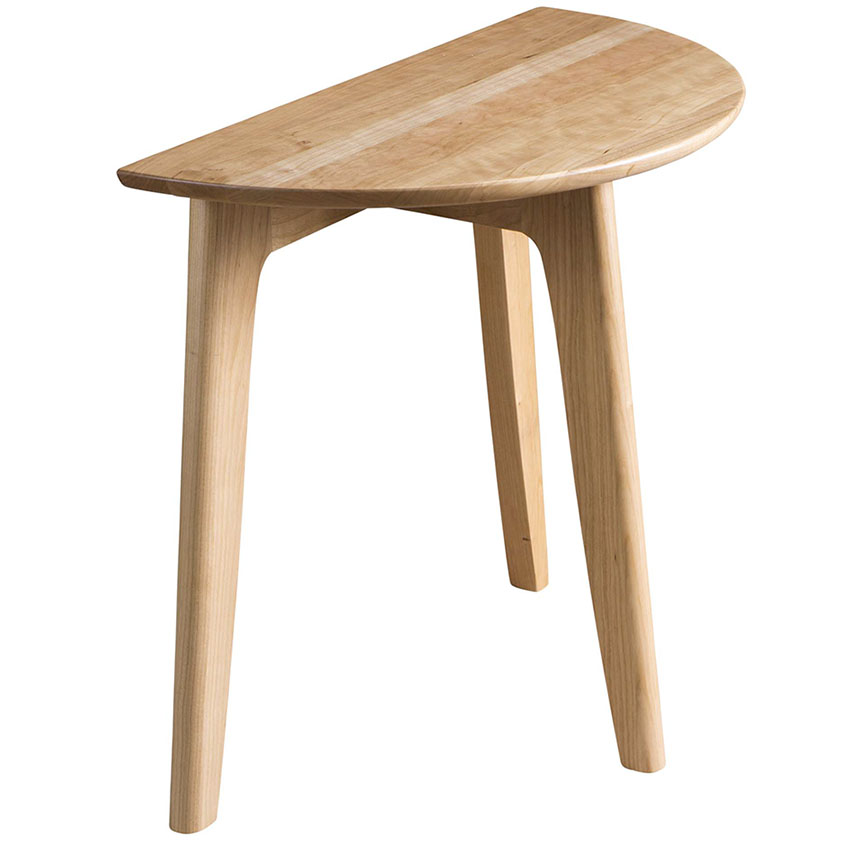 Half Round End Table Sesigncorp