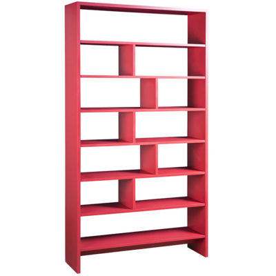 Linea Storage Unit in red by Gat Creek Furniture at Creative Classics Furniture in Alexandria VA near Arlington VA and Washington DC