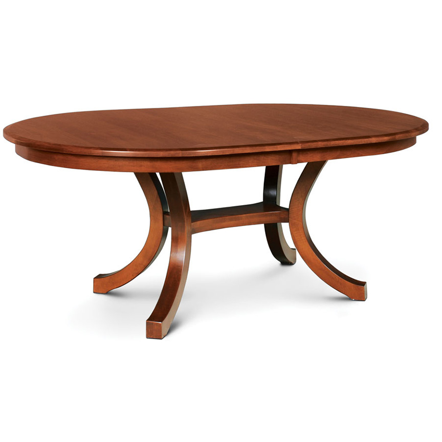 Loft ii oval dining table creative classics for Oval dining table