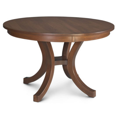 Loft II Solid Wood Round Dining Table by Simply Amish Furniture at Creative Classics Furniture in Alexandria VA near Arlington VA and Washington DC