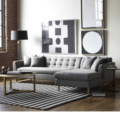 Keaton Sectional Sofa Scene by Precedent Furniture at Creative Classics Furnituer in Alexandria VA
