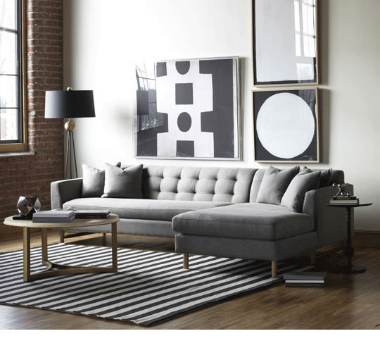 Keaton Sofa in Three Sizes