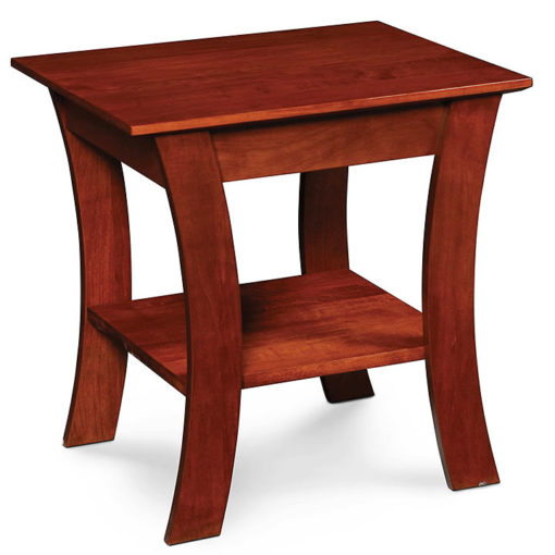 Solid wood Grace End Table by Simply Amish Furniture at Creative Classics Furniture in Alexandria VA near Arlington VA and Washington DC