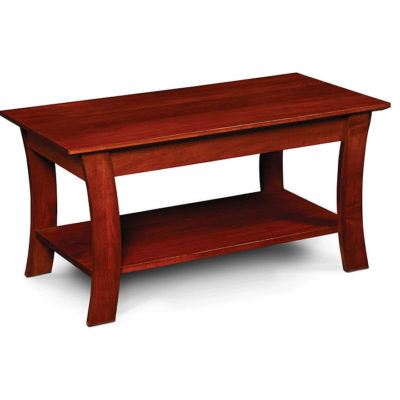 Solid wood Grace Small Scale Coffee Table by Simply Amish Furniture at Creative Classics Furniture in Alexandria VA near Arlington VA and Washington DC