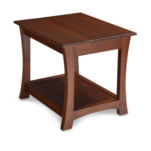Solid Wood Loft End Table by Simply Amish at Creative Classics Furniture in Alexandria VA near Arlington VA and Washington DC