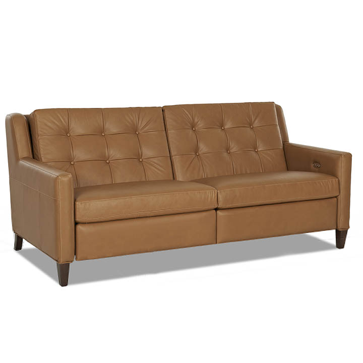 Recling Sofas 91 Inch Top Grain Reclining Sofa With