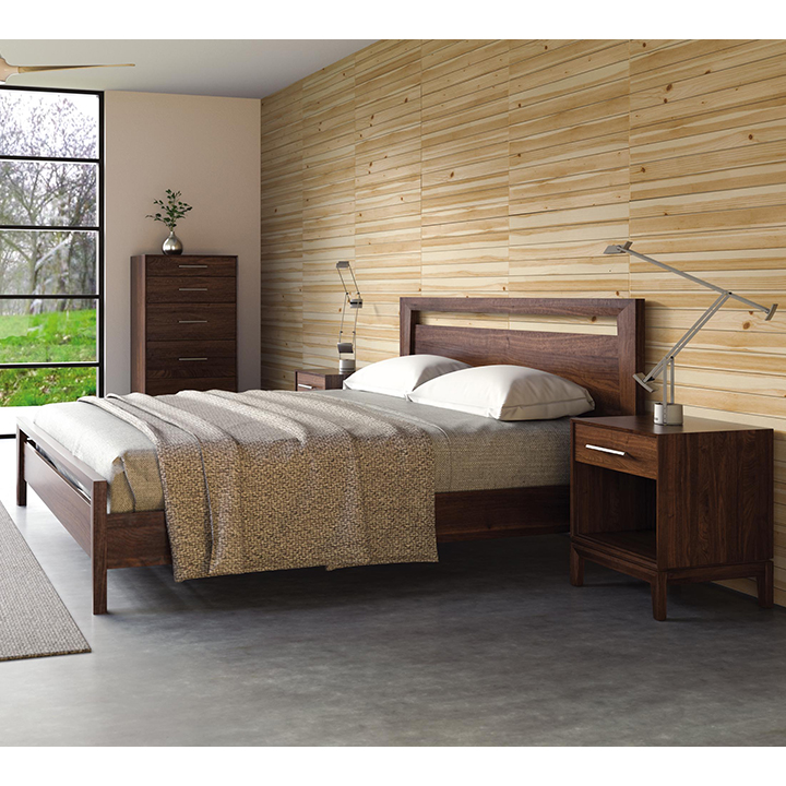 Superbe Mansfield Bed In Walnut Or Cherry
