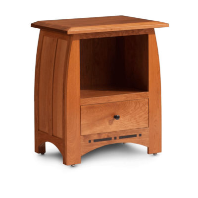 Solid wood Aspen one drawer nightstand by Simply Amish Furniture at Creative Classics Furniture in Alexandria VA near Washington DC and Arlington VA
