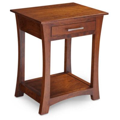 Solid Wood Loft Bedside Table by Simply Amish at Creative Classics Furniture in Alexandria VA near Arlington VA and Washington DC