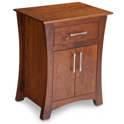Solid Wood Loft Nightstand in cherry wood finish by Simply Amish at Creative Classics Furniture in Alexandria VA near Arlington VA and Washington DC