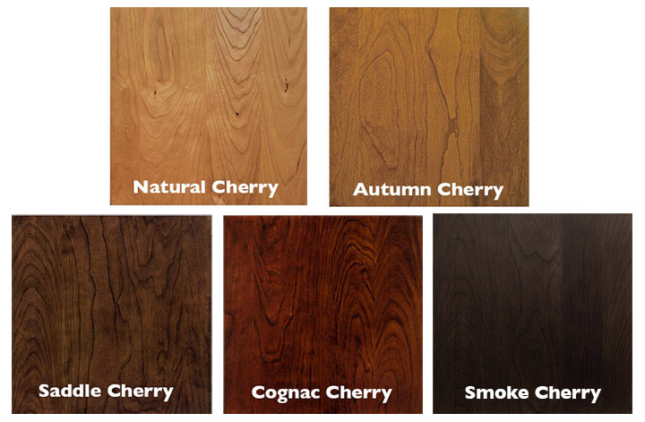 Cherry Stain Options