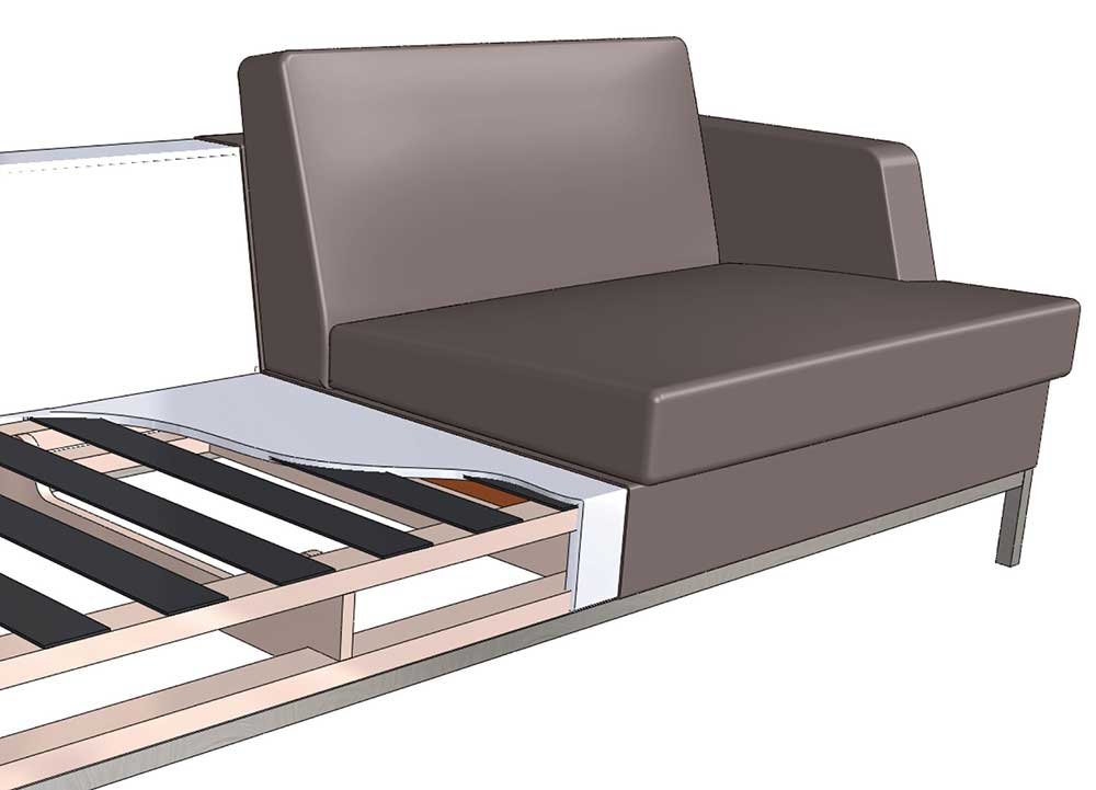 About Sofa Suspensions | Creative Classics Furniture