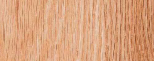About Natural Red Oak hardwood used for fine solid wood furniture