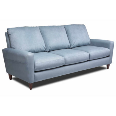 Bennet Sofa in blue fabric by American Leather at Creative Classics Furniture in Alexandria VA near Arlington VA and Washington DC